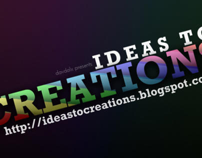 Ideas to Creations Video Tutorials