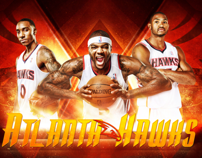 Atlanta Hawks Flight Club Wallpaper