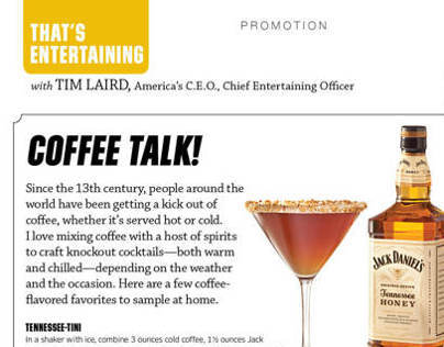 Delta Sky Magazine // Brown-Forman Advertisement