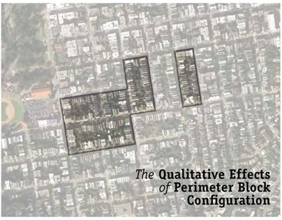 Qualitative Effects of Perimeter Block Configuration