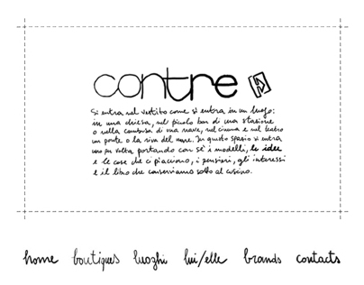 Contre website