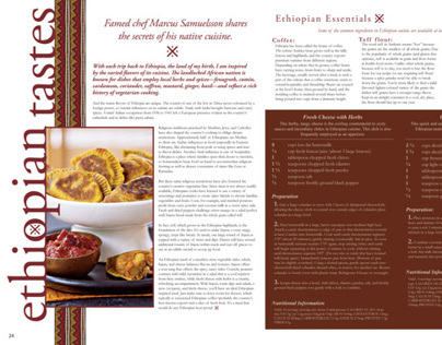 Ethiopian Tastes Article Spread