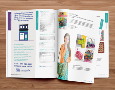 Publishing Company Catalog Design
