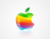 Apple iMac wallpaper design
