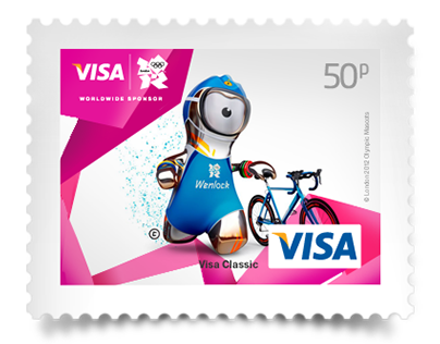 Visa London 2012 Olympics Stamps
