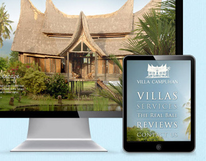 Web Design & Branding for Bali Vacation Rental