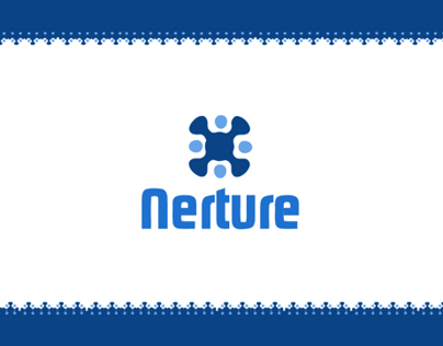 New branding of Nerture company for business services