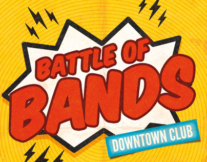 Battle Of Bands Flyer Template