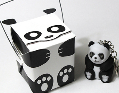 Evil Panda Package Design
