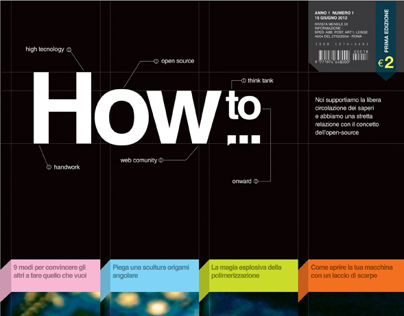 """HOW TO"" / Valerio Cirillo / A.A. 2011/2012"