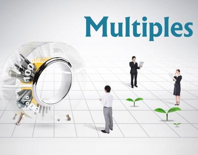 Multiples A5 Flyer design