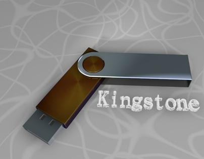 flashdisk kingstone (3D Modeling)