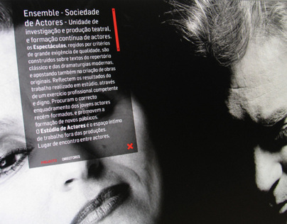 WEBSITE - ENSEMBLE SOCIEDADE DE ACTORES
