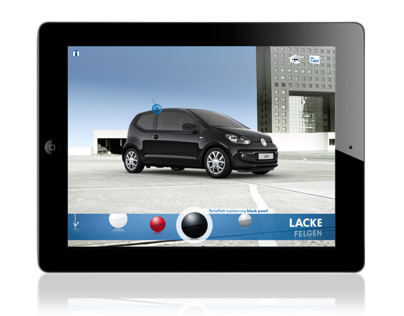 VW up! iPad Catalogue App