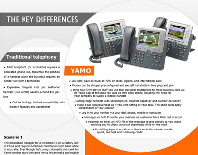 Yamo | Brochure Design