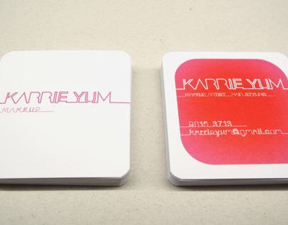Karrie Yum name card