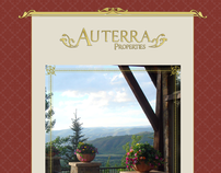 Auterra Properties website and logo design