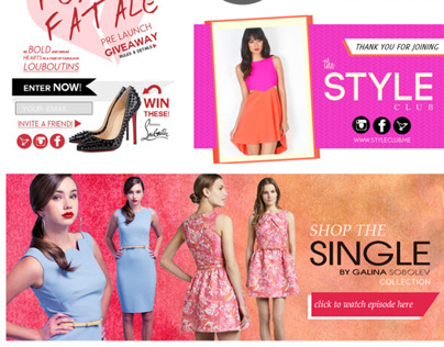 E-Commerce Design for TheStyleClub