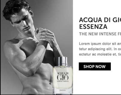 Giorgio Armani Beauty: Email Mobile Optimization