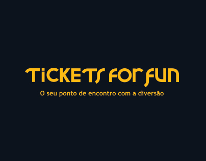 Redesign site - Tickets for Fun