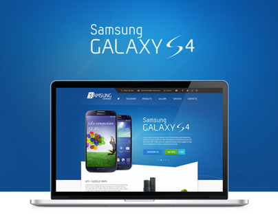 Samsung Galaxy S4 Website | Designed by Weeds Brand