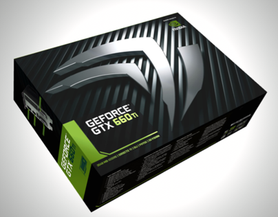 Packaging + Installer UI - GEFORCE GTX 660 Ti
