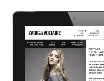 Tab | Zadig & Voltaire Concept