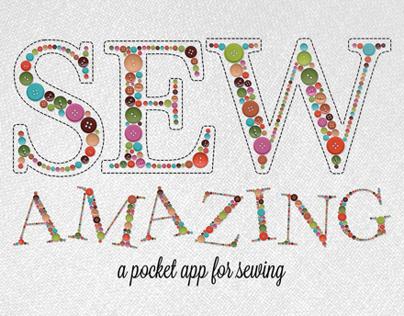 Sew Amazing iPad App