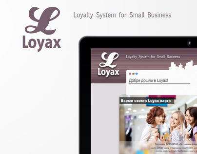 Loyax - Website Project