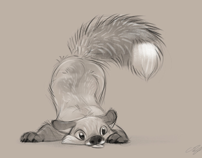 Animal sketches 2013