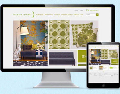 Website Design for eCommerce furniture store