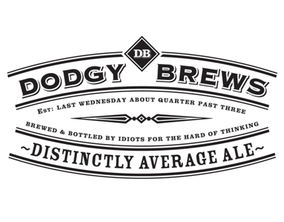 Dodgy Brews (Brand & Packaging)