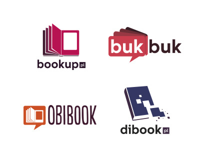 Logo propositions for new type of bookstore