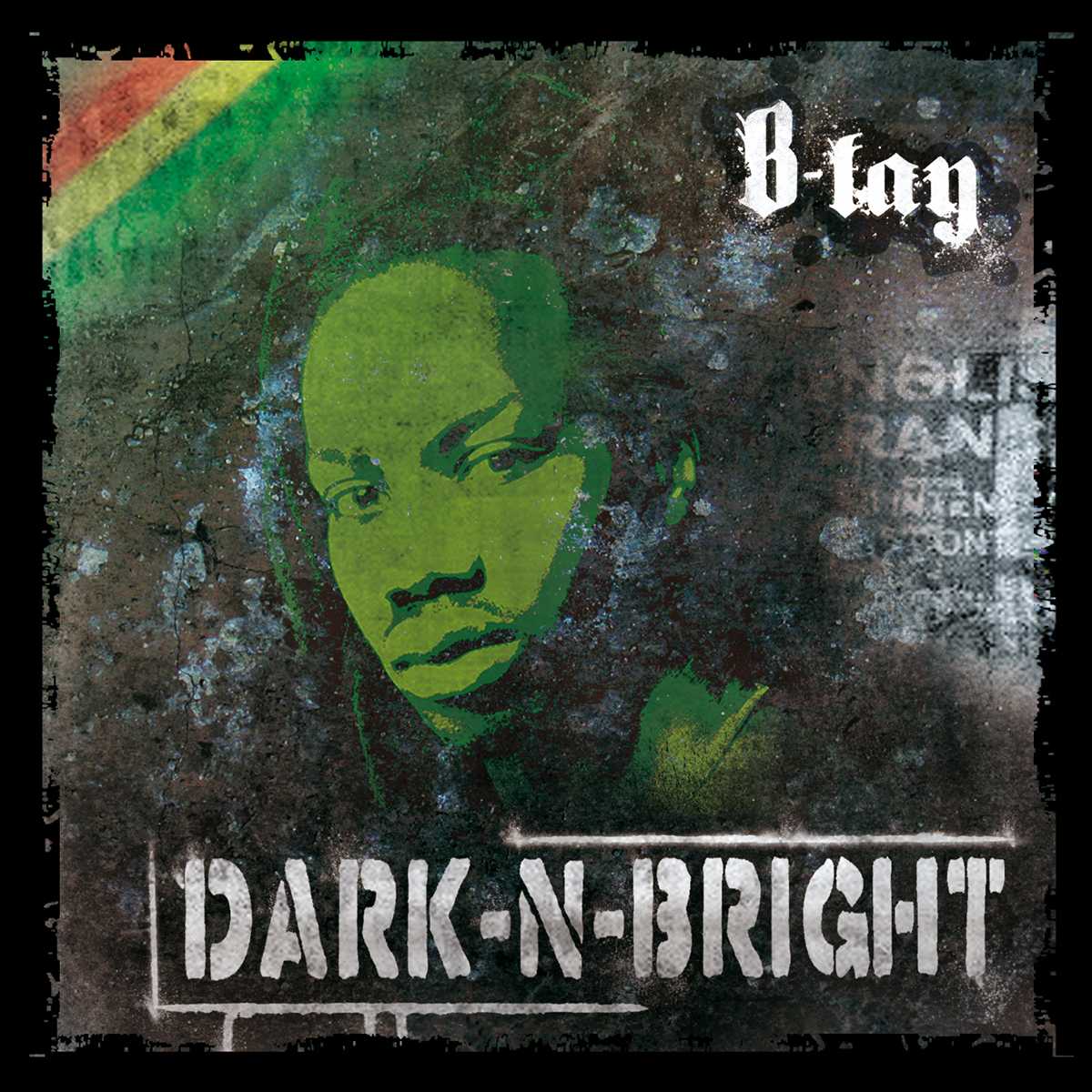 B-Lay DarknBright (CD Cover)