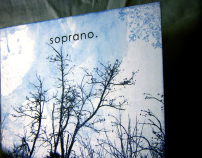 FREELANCE: CD Packaing for Soprano