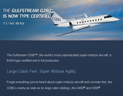 Gulfstream | G280 Certification