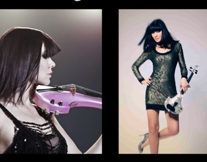 Linzi Stoppard Electric Violin Art