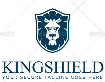 Kingshield Logo Design