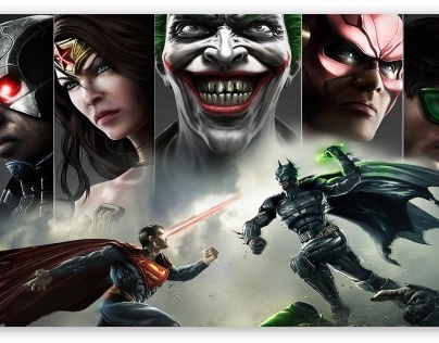 Injustice: Gods Among Us Poster Concepts