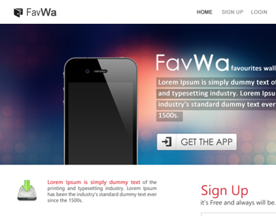 FavWa Website Design