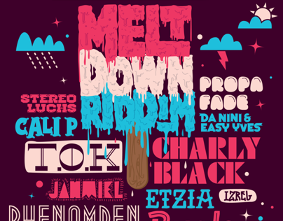 Meltdown Riddim Artwork