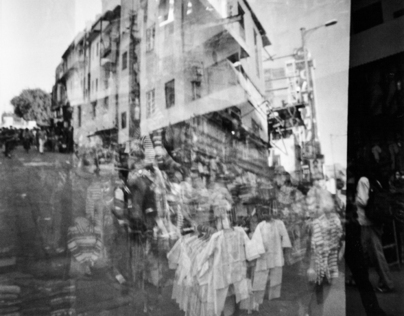 India double exposure