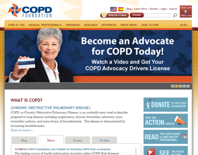 COPD Foundation Website