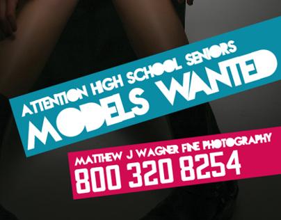 High School Senior Model Ad Campaign