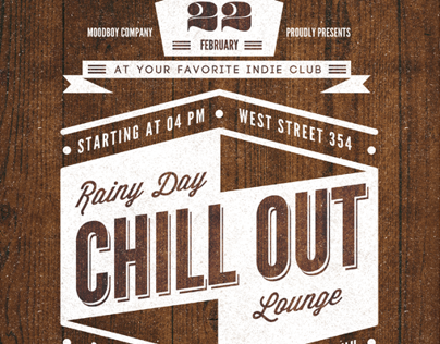 Chill Out Flyer/Poster Template