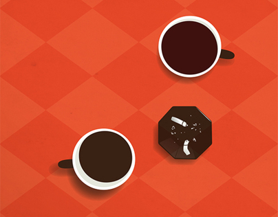 Fame - Self Promotion Coffee Cups & Illustration