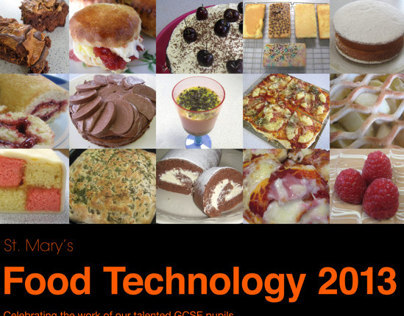 St. Marys Menston Food Technology 2012-13 Posters
