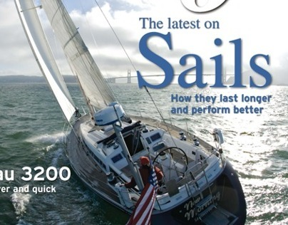 SAILING MAGAZINE: Page Layouts