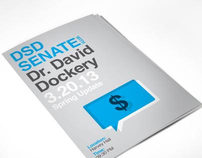 DSD Senate Poster - Spring 13
