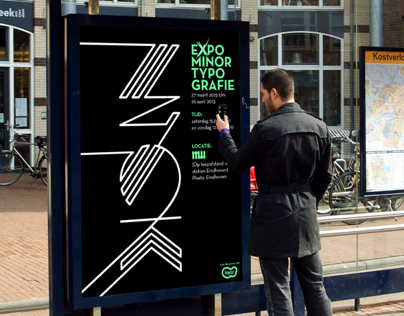 Expo Poster for MU Eindhoven | Scannable with Layar app